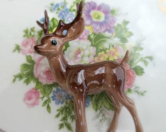 Vintage NOS Hagen-Renaker - Papa Deer - Buck - Horns -