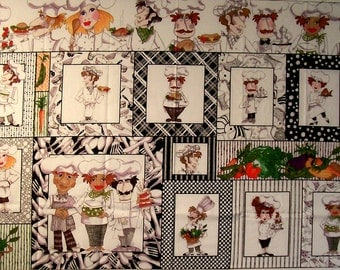 What's Cookin panel by Quilting Treasures  (#94X)