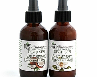 Dead Sea Salt Spray For Hair, moisturizing natural curl activator and styling aid