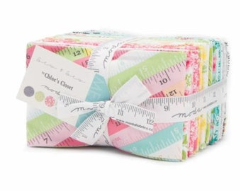 SALE Sew & Sew Fat Eighth bundle - Chloe's Closet Moda Fabrics