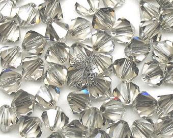 Clearance 100 pcs Swarovski Crystal 5301/5328 4mm Crystal Satin Bicone Beads Wholesale