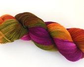 Superwash wool/polyamide sock yarn - Autumn Leaves