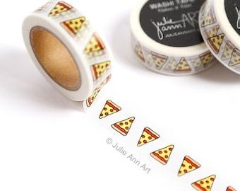Stocking Stuffer - Pizza Washi Tape - Planner Washi Tape