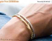 Valentines Day Sale 14k Gold Twig Cuff Bracelet | Stacking Bracelets| Nature Inspired Braclets