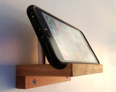 Phone Stand, Wall Mount, for iPhone 6 Plus iPhone 5, iPhone 5s and More.  A TV Stand for Your Cell Phone