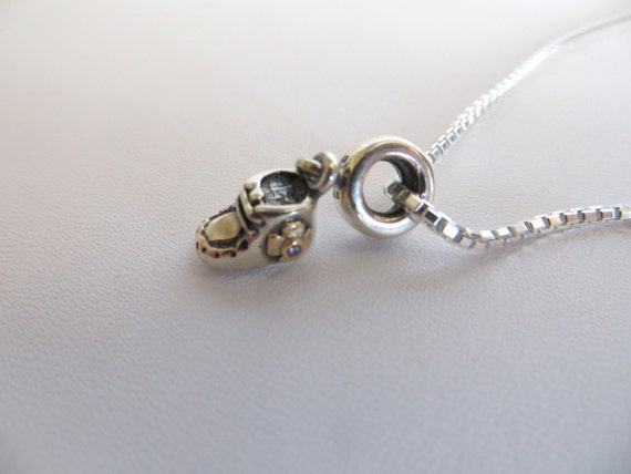 Pandora Charm Sterling Silver Charms Baby Shoe Charm