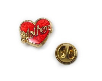 Vintage Mother Tie Tack Pin Flair