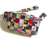 Body Bag / Waist Pouch / Hip Bag --- The Kimono Cat - Red