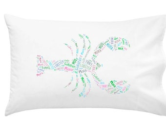 Personalized Lobster Pillowcase Room Decor Beach House