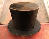 Vintage Silk Top Hat