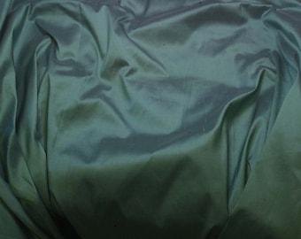 ROBIN'S EGG Blue Silk DUPIONI Fabric - 1 Yard