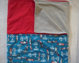 Cat in the Hat Blanket