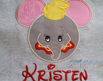 Dumbo Personalized Shirt Kids and Adults