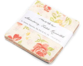 SALE! - Strawberry Fields (20260PP) by Fig Tree & Co. - Charm Pack