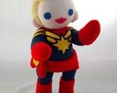 Cuddly Plush Marvelous Captain