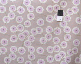 Martha Negley PWMN087 Westwood Puffball Grey Cotton Fabric 1 Yard