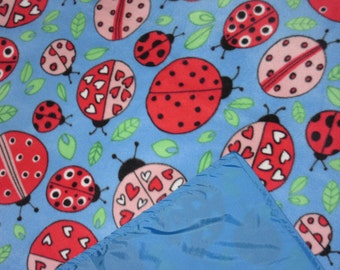 Picnic Blankets - Waterproof Picnic Blanket - Ladybug Love