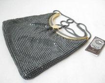 80's MESH PURSE// Metallic Shimmery Purse