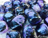 Charoite Tumbled Gemstones . Stone of Transformation