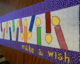 Make a Wish Table Runner