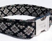 Sharp Dressed Dog - Stylish Preppy Dog Collar by Swanky Pet