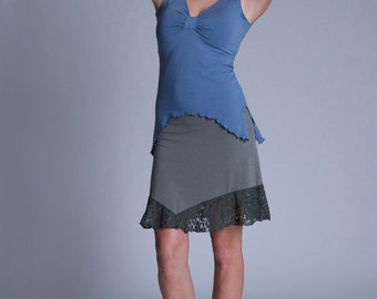 Bamboo Calypso Knee length Skirt