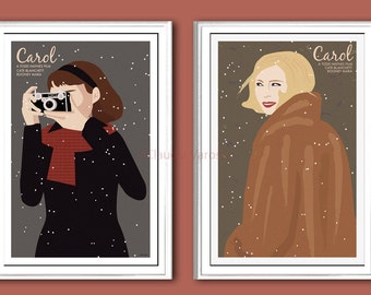 Carol 2 movie posters bundle in various sizes