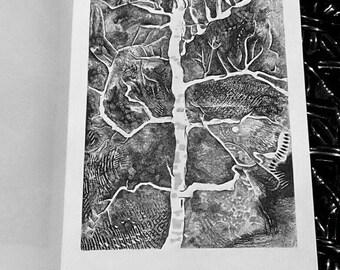A Tree in Lengshuikeng (Travel Sketch Book - Art Zine - Art Book)