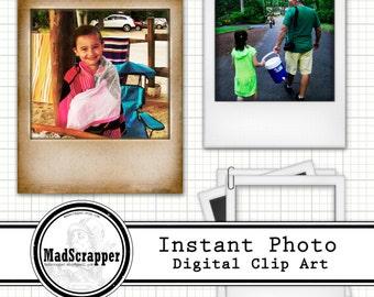 Instant Photo Digital Frames Digital Clip Art