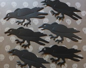 CROWS / Murder / Raven / Halloween / Die Cuts