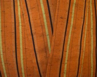 Vintage fudangi S146, silk, earth tones