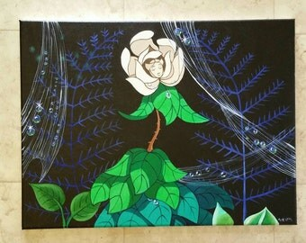 Disney alice in wonderland singing flower