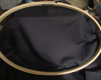 26    inch  oval  embroidery  hoop