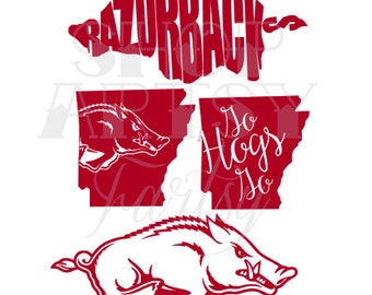 Arkansas Razorbacks Decal