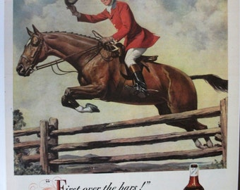 122 Hunter Whiskey Ad - 1947