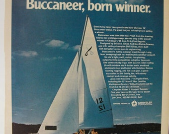 107 Chrysler Sail Fleet  Ad -  1971
