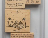Stampin' Up! City of David Stamp Set (set of 4)