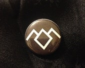 Twin Peaks 1-inch button