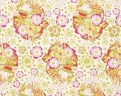 Anna Maria Horner - Folk Song Collection - Baby Bouquet Fabric Print - Color in Sweet - PWAH092