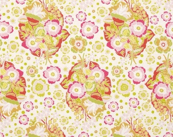 SALE - Anna Maria Horner - Folk Song Collection - Baby Bouquet Fabric Print - Color in Sweet - PWAH092