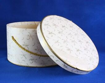 Vintage Cardboard Hat Box