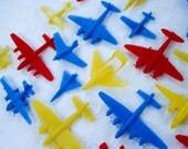 Vintage plastic airplanes - set of 50 - RAF, France, USAF etc