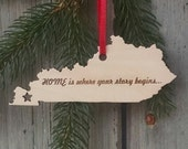 KENTUCKY Personalized State Ornament - Custom State Ornament  - Free Shipping USA