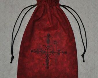 Papa Legba voodoo tarot bag