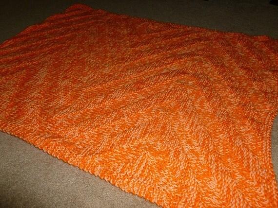 Zig-Zag Blanket knitting pattern