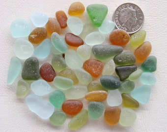 English sea glass colour collection including ,teal, lime,green,seafoam,amber,orange  etc etc