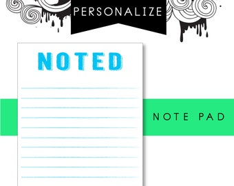 Note pad, Noted Note Pad