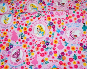 Disney Fabric  Alice in Wonderland  half meter