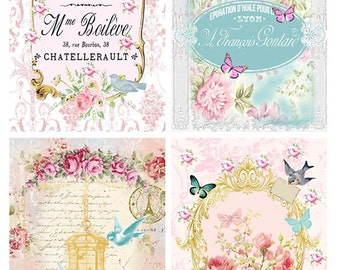 Oh So Pretty Collage Sheet-New