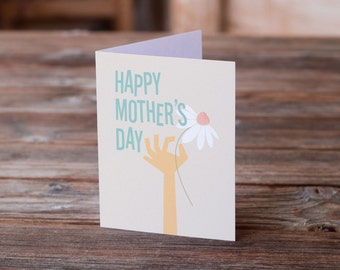 Flower for Mothers Day Card